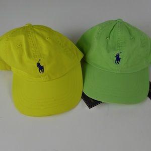 Polo Ralph Lauren Baseball Hat Bundle NWT Cap Set